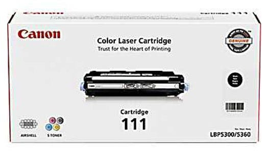 Canon 111 Black Laser Toner Cartridge