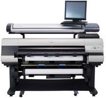 Canon IPF SD4400 MFP stand with 825sm 1