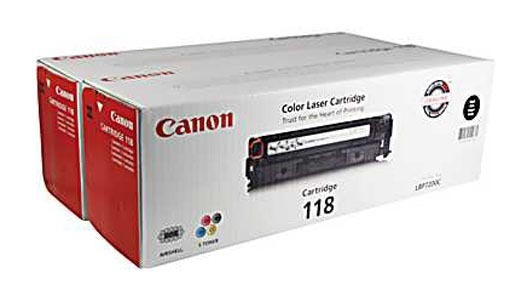 canon 118 k dual pack