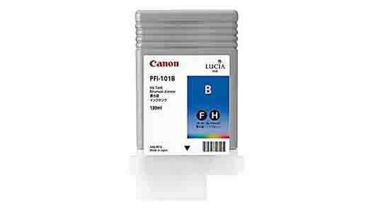 canon pfi 101 blue